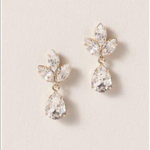 BHLDN Crystal drop earrings